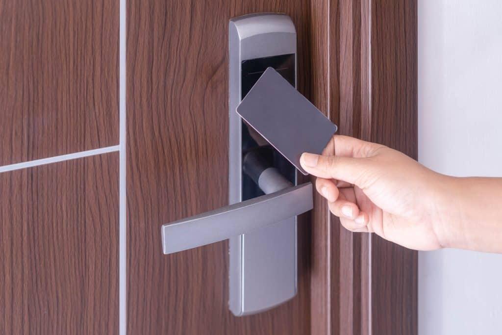 key card lock
